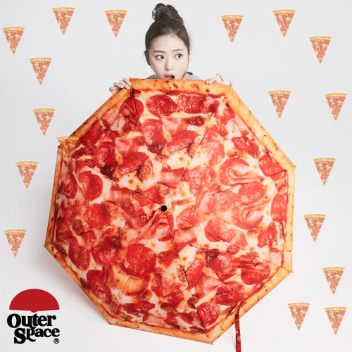 OUTER SPACE PIZZA 太空傘