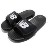 New Balance 拖鞋 NB 230 黑 白 基本款 黑白 夏日百搭款 魔鬼氈 男鞋 女鞋【PUMP306】 SD230BKD