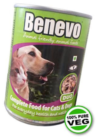 【Benevo 班尼佛】狗罐頭、貓罐頭(369g)純素非基因改造,美味又營養,貓狗皆可食。