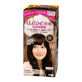 莉婕 LIESE 泡沫染髮劑 魅力遮白系列 紅茶棕色│飲食生活家