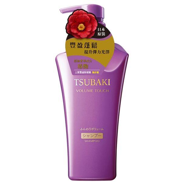 思波綺 TSUBAKI 上質豐盈洗髮精(軟塌髮適用)紫500mL