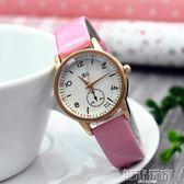 寶寶手錶 韓版女孩學生兒童手錶防水指針式初中小孩子大童女生石英錶 小宅女