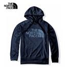 The North Face 男 FlashDry 吸濕排汗連帽上衣 深藍 NF0A497IH2G【GO WILD】