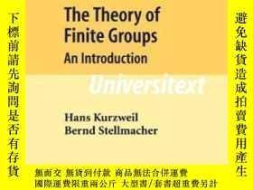 二手書博民逛書店The罕見Theory Of Finite Groups-有限群理論Y436638 Hans Kurzweil