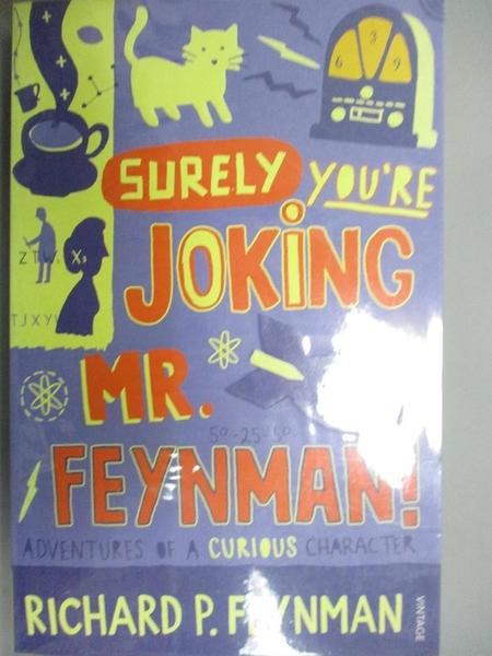 【書寶二手書T7/原文小說_NFV】Surely You re Joking, Mr.Feynman!: Adventu