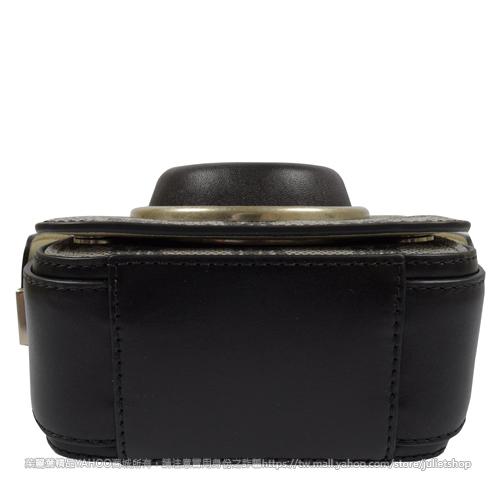 茱麗葉精品【下殺低價】MICHAEL KORS Scout 條斜背硬殼相機包.黑