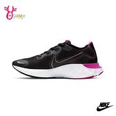 NIKE WMNS RENEW RUN 成人女款 慢跑鞋運動鞋 P7201#黑桃◆OSOME奧森鞋業