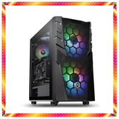 歐西里斯 RGB玻璃透側 九代 i7-9700KF 水冷電競GTX1650 GAMING 主機