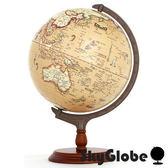 【SkyGlobe】12吋古典航海木質底座地球儀(中文版)