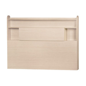 【YFS】麥基5尺床頭片-152.5x10x110cm(四色可選)洗白色