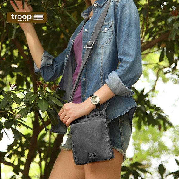 【TROOP】經典品格CLASSIC單肩包/TRP0243BK