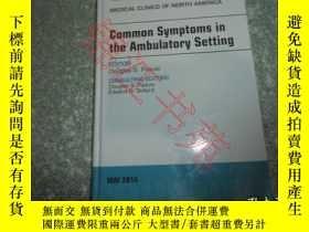 二手書博民逛書店Common罕見Symptoms in the Ambulato