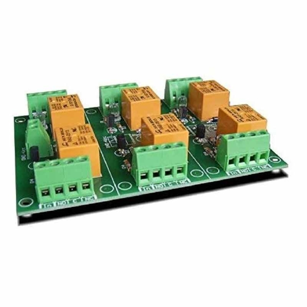 Denkovi 6 Channel 10A Relay Board 5VDC for Your Arduino or Raspberry PI, PIC, AVR, ARM [2美國直購]