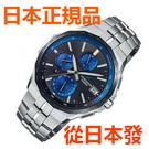免運費 日本正規貨 CASIO 卡西歐海神 OCW-S5000E-1AJF 太陽能電波鈦合金高端商务男錶 智能手機鏈接 金