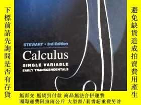 二手書博民逛書店Calculus罕見single variable【看圖】精裝Y