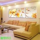 客廳裝飾畫現代簡約三聯無框畫沙發揹景牆壁...