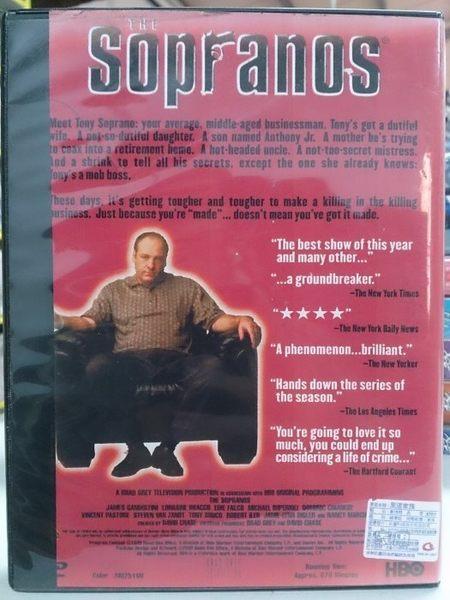 R07-022#正版DVD#黑道家族 第一季(第1季) 4碟#影集#影音專賣店