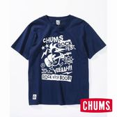 CHUMS 日本 女  Rock Booby 短袖T恤 深藍 CH111369N001