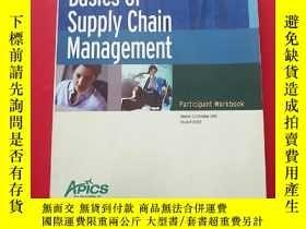 二手書博民逛書店Basics罕見of Supply Chain Manageme
