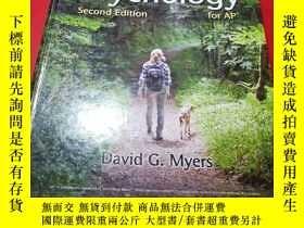二手書博民逛書店Myers 罕見Psychology for thelAPDavid G MYyers【精裝】Y251418