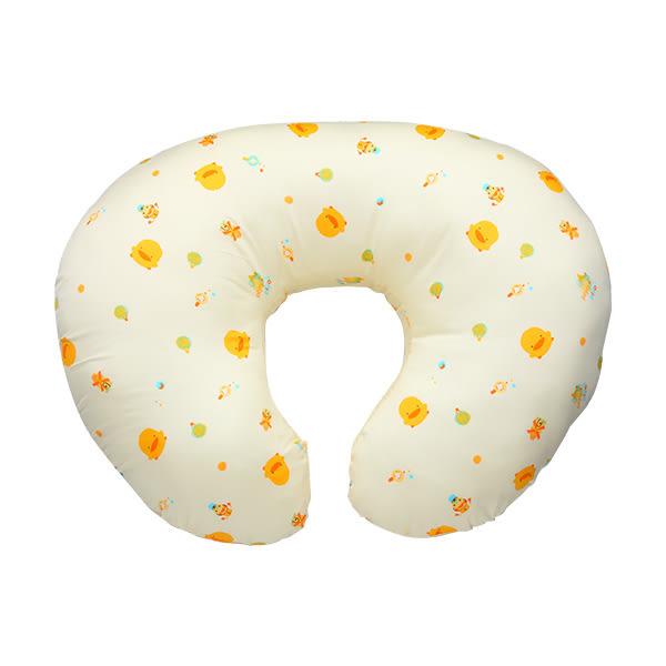 【奇買親子購物網】黃色小鴨 U 型授乳枕/哺乳枕(藍/粉/黃)