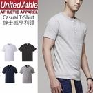 United Athle日本職人亨利領T恤 排扣 池袋 日系無印