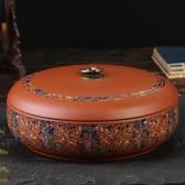 紫砂陶瓷茶葉罐 大號密封罐存醒茶餅罐
