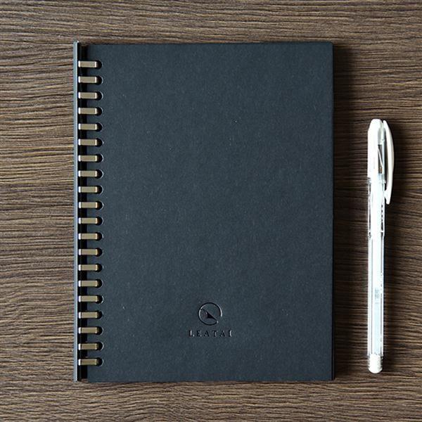 Happy活頁本-Blackout Paper 黑就是又潮又有型HAPPY 活頁本【磊泰Leatai】