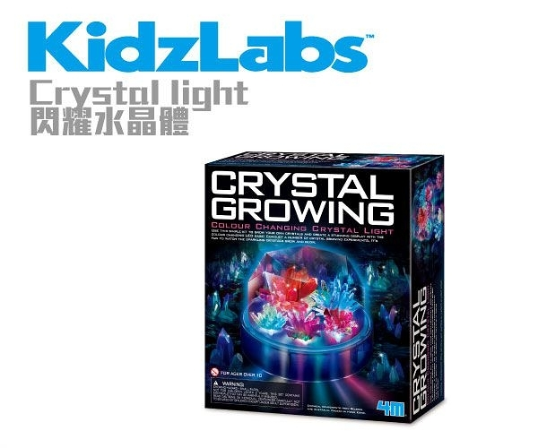 【4M】00-03920閃耀水晶體 Colour Changing Crystal Light