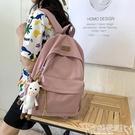 後背包2020年新款女書包日系bf風古著感背包潮森系韓版高中大學生後背包