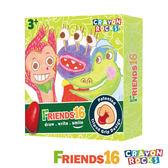 美國 Crayon Rocks 酷蠟石 - 畫畫好朋友 16色 - 美國製造、100%天然無毒大豆蠟蠟筆