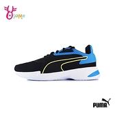 PUMA童鞋 男童運動鞋 大童 記憶鞋墊 跑步鞋 慢跑鞋 JARO JR K9525#黑藍◆OSOME奧森鞋業