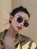 新款太陽鏡女復古個性墨鏡潮韓版長方形瘦臉眼鏡網紅偏光鏡 中秋節全館免運