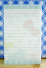 【震撼精品百貨】Hello Kitty 凱蒂貓~kitty便條紙-橫條綠