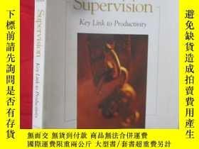 二手書博民逛書店Supervision:罕見Key Link to Produc