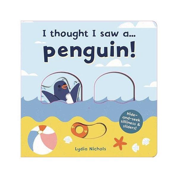 I Thought I Saw A...Penguin! 企鵝玩捉迷藏 硬頁操作書