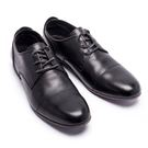 經典款簡約低筒德比皮鞋#91102黑 -...
