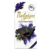 *新品*白儷人90%醇黑巧克力100g