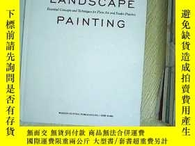 二手書博民逛書店LANDSCAPE罕見PAINTING ,Y203004