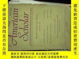 二手書博民逛書店b0048the罕見american scholar(a qua