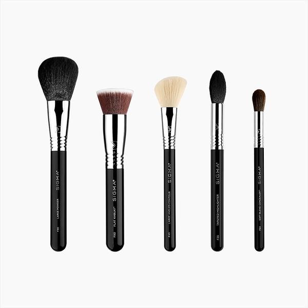 Sigma CLASSIC FACE BRUSH SET 臉部刷具組 5支刷具組 美國Sigma官方授權經銷商