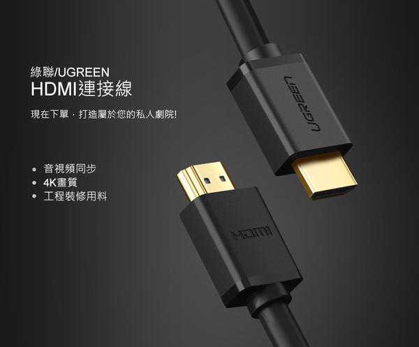 現貨Water3F綠聯 1M HDMI2.0傳輸線