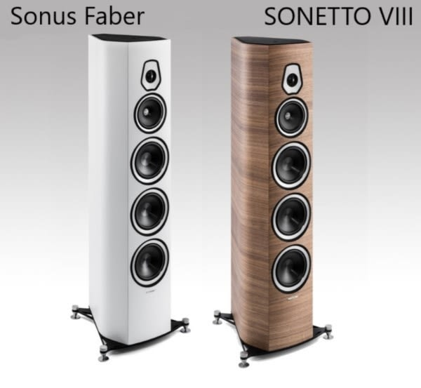 【結帳優惠+24期0利率】Sonus Faber SONETTO III 喇叭原木色 / 消光白 義大利製