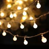 小燈泡 LED彩燈串燈滿天星裝飾燈宿舍電池星星燈串USB小燈泡