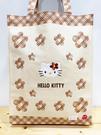 【震撼精品百貨】凱蒂貓_Hello Kitty~日本SANRIO三麗鷗 KITTY 手提包/側背包-米格#22045