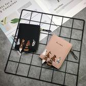 ins錢包女短款學生韓版可愛小清新折疊迷你潮個性零錢包 森活雜貨