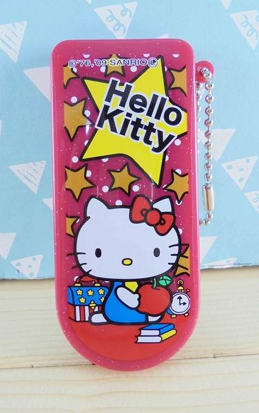 【震撼精品百貨】Hello Kitty 凱蒂貓~KITTY衣刷附鏡-紅星
