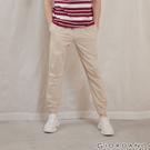 【GIORDANO】男裝純棉素色束口褲 - 86 胡椒白