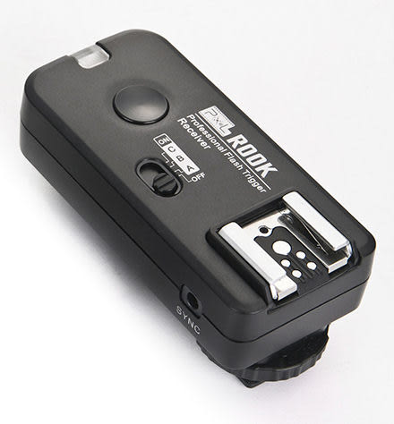 呈現攝影-品色 ROOK F-508 C 無線閃燈觸發器 Canon用 可雙閃 分組 喚醒 單接收x1