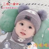 嬰兒帽子秋冬純棉加絨新生嬰幼兒男女寶寶帽可愛韓版兒童帽【淘嘟嘟】